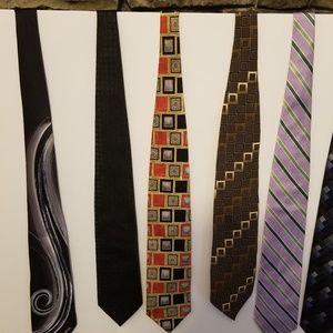Other - Eight Men's Designer Ties Silk